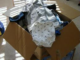 baby clothes box